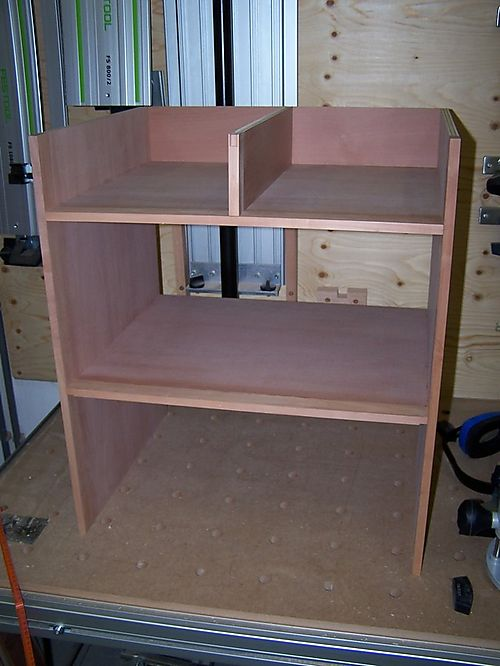 Drawer divider made for central section