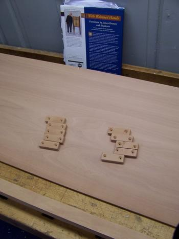 Blocks for base plate