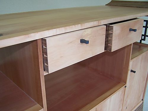 Hand made drawers