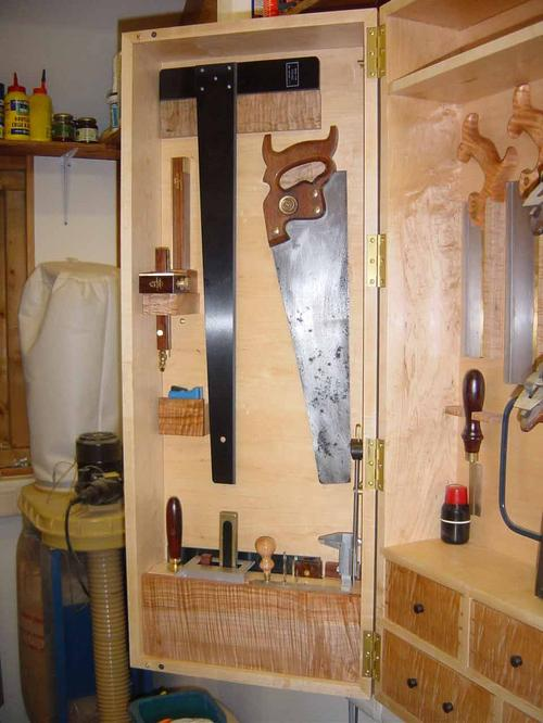 Left hand side of Tool Cabinet